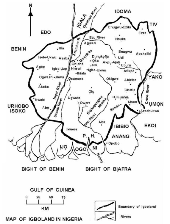 Le pays igbo